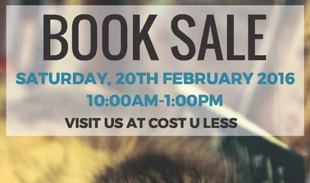 book sale cost u less 20th Feb