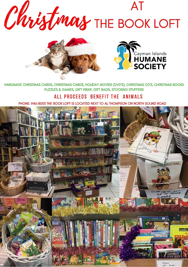 Christmas at the Book Loft - Cayman Islands Humane Society